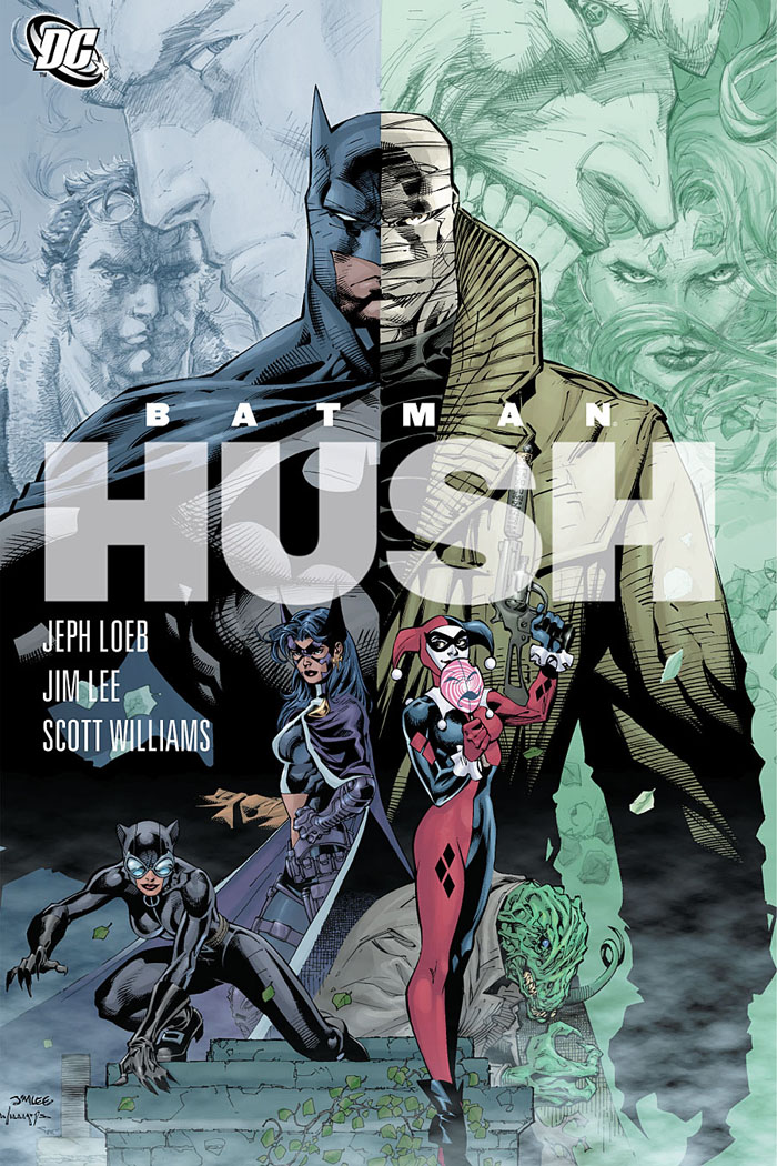 Batman recommended reads Hush