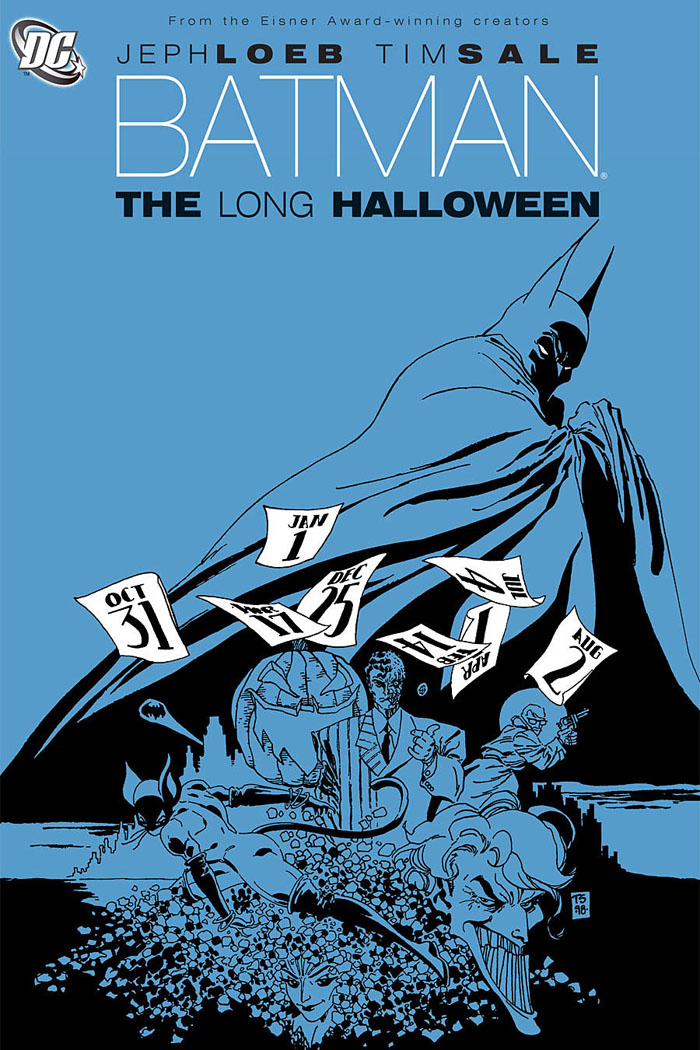 Batman recommended reads The Long Halloween