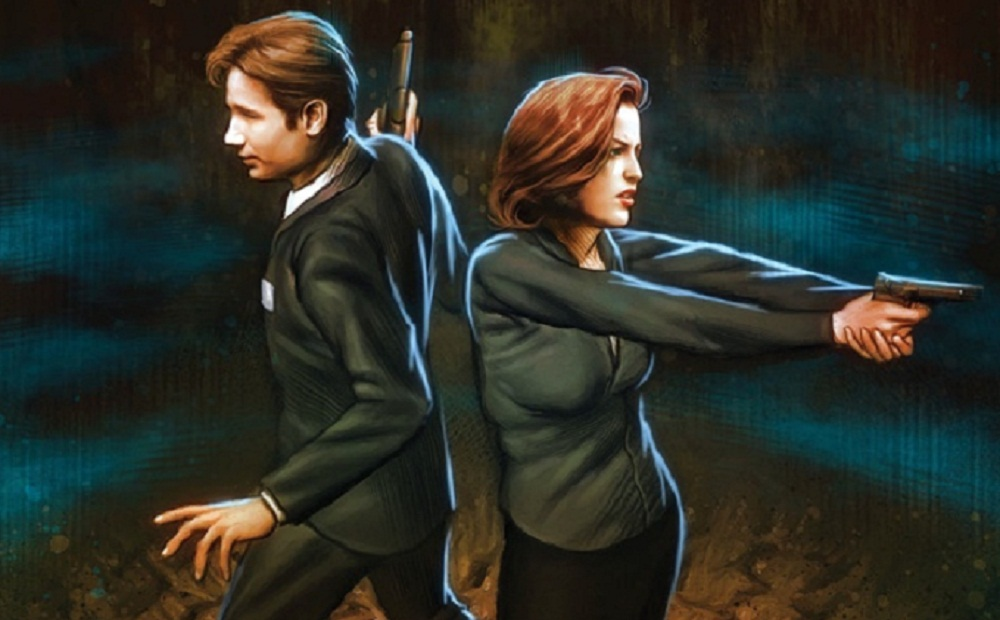 Review The X-Files Season 10 issue 1 header