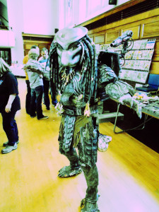 Sweet Predator cosplay.