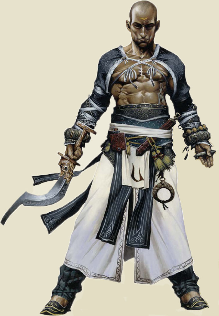 Monk Pathfinder roleplay