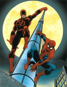 Dareveil and Spider-Man by John Romita Sr