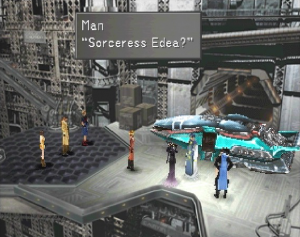 Final Fantasy VIII Edea party