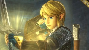 Hyrule Warriors Link Cutscene