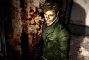James looks a little like Leon Kennedy...