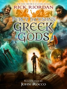 Percy Jacksons Greek Gods cover