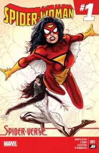 Spider-Woman issue 1 cover v1