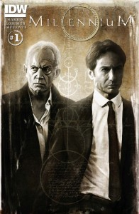 Millennium comic issue one cover