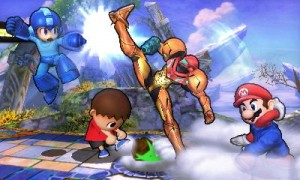 super smash bros 3ds demo screen