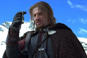 Boromir and the ring img 1