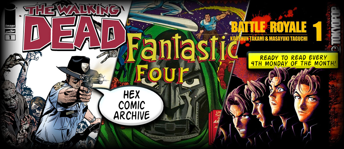 Hex Comic Archive One May Smile And Smile And Be A Villain
